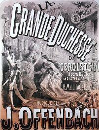 Affiche Affiche La grande Duchesse de Gerolstein