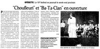 Ba-Ta-Clan et Monsieur Choufleuri...