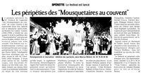 Mousquetaires au couvent
