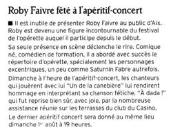 Roby Faivre