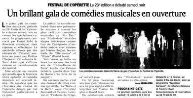 Grand Gala Comédie Musicale
